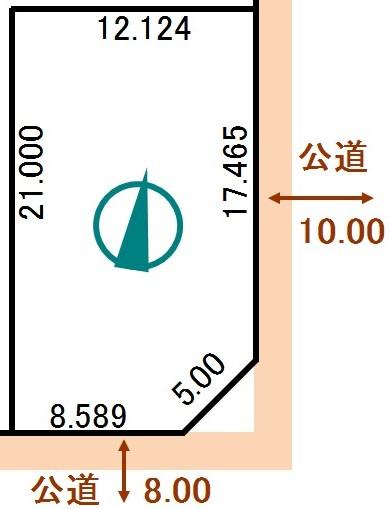 土地 北海道釧路郡釧路町わらび1丁目69番 JR根室本線釧路駅 75万円