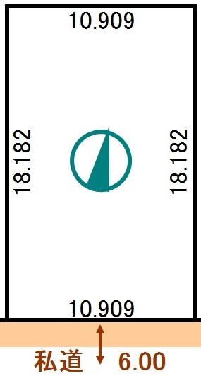 土地 北海道釧路市桜ケ岡7丁目 JR根室本線釧路駅 50万円