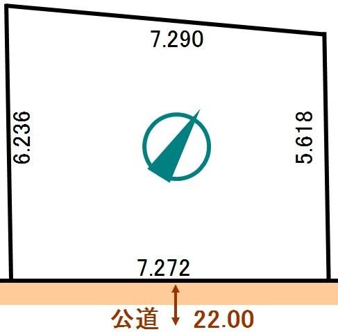 土地 北海道釧路市南大通1丁目2番14 JR根室本線釧路駅 50万円