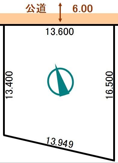 土地 北海道釧路郡釧路町柏東3丁目94番 JR根室本線釧路駅 60万円