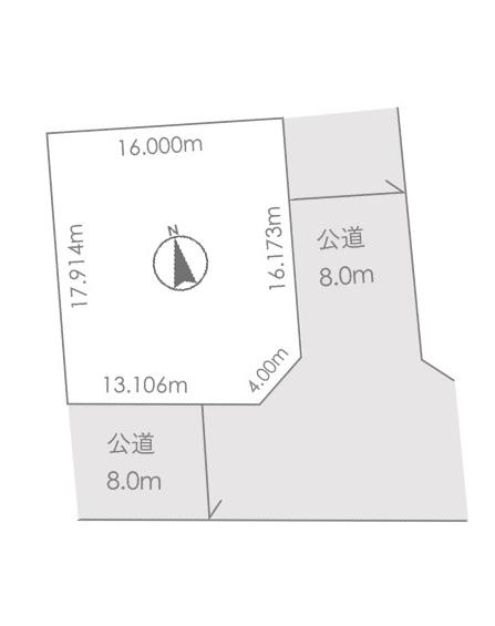 土地 北広島市里見町7丁目 JR千歳線北広島駅 1220万円