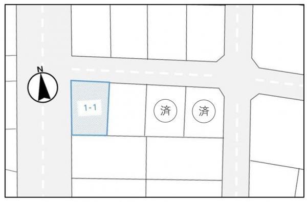 土地 北海道北広島市稲穂町東3丁目1-1 JR千歳線北広島駅 980万円