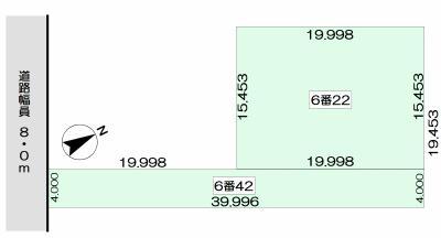 土地 北海道旭川市旭岡6丁目6番22 JR函館本線旭川駅 90万円