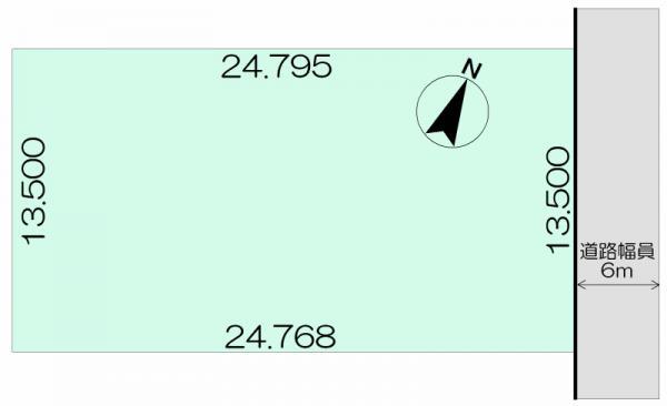 土地 北海道旭川市春光台五条3丁目4番地8 JR函館本線旭川駅 150万円