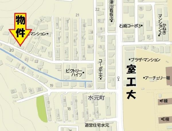 中古戸建 北海道室蘭市水元町20番地6号 JR室蘭本線鷲別駅 150万円