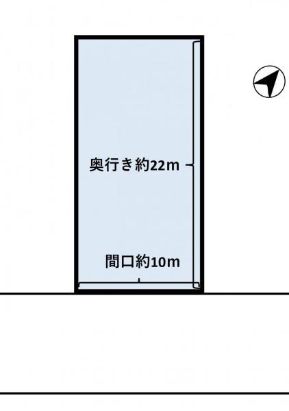 土地 青森市原別6丁目 青い森鉄道野内駅 750万円