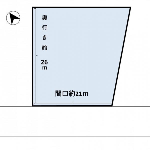 土地 青森市大字野沢字横手 JR奥羽本線新青森駅 300万円