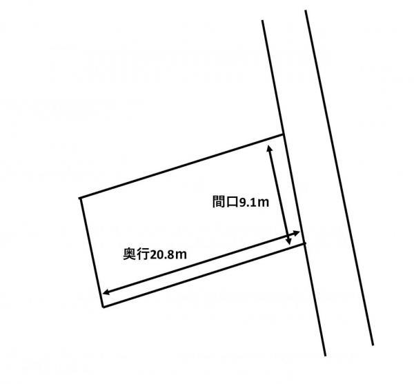 土地 青森市佃1丁目 青い森鉄道東青森駅 850万円