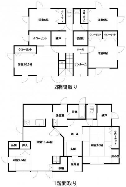 中古戸建 青森市千刈4丁目 JR奥羽本線青森駅 2200万円