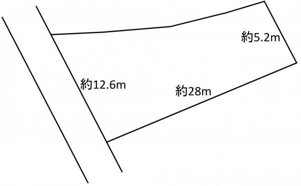 土地 青森市大字西田沢字浜田 JR津軽線油川駅 380万円