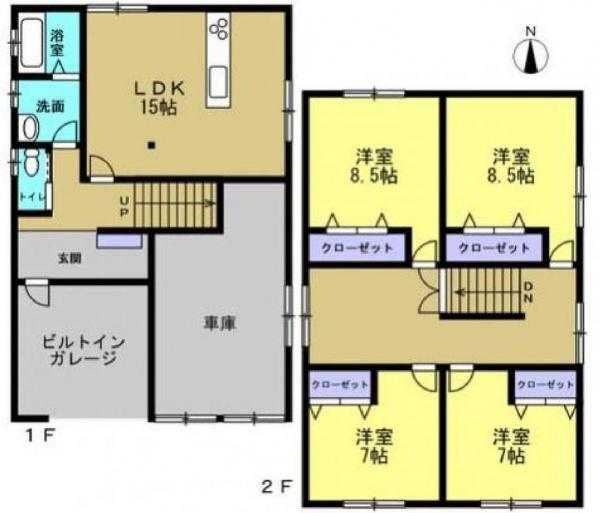 中古戸建 青森市新田1丁目 JR奥羽本線青森駅 1699万円