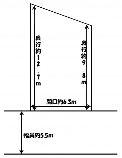 土地 青森県青森市大字羽白字沢田12-6 JR津軽線油川駅 300万円