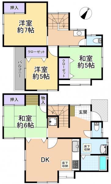 土地 練馬区向山2丁目 都営大江戸線練馬駅 5800万円