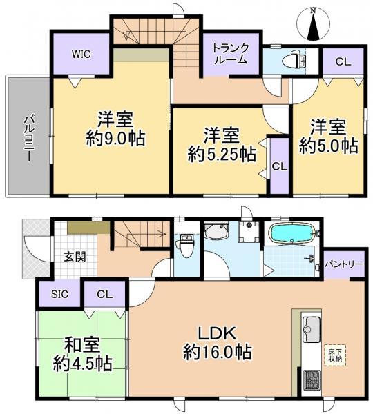 新築戸建 練馬区西大泉6丁目 西武池袋線保谷駅 4630万円
