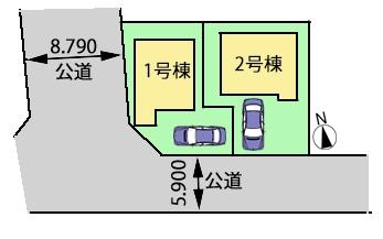 新築戸建 西東京市向台町5丁目 西武新宿線田無駅 3880万円