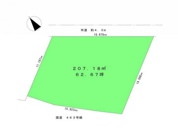 土地 所沢市林3丁目 西武池袋線武蔵藤沢駅 2980万円