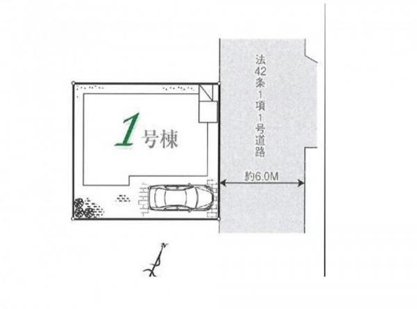新築戸建 埼玉県所沢市大字本郷1009-7 JR武蔵野線東所沢駅 2680万円