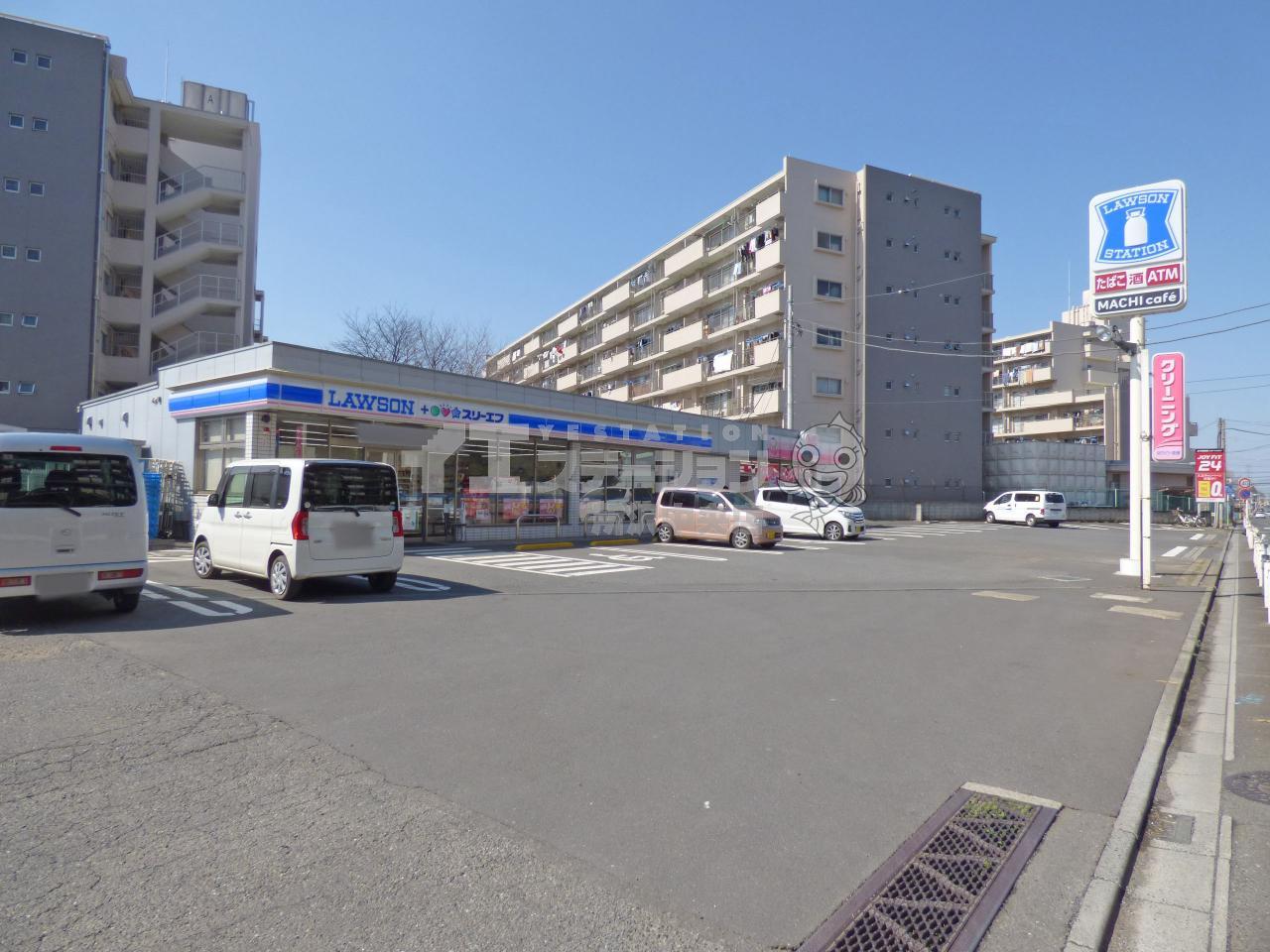 ローソン+スリーエフ所沢向陽町店