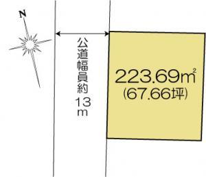 水戸市元吉田町1635-5 JR常磐線(取手〜いわき)水戸駅 13500000