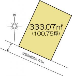 土地 水戸市平須町1822-438 JR常磐線(取手〜いわき)水戸駅 12000000