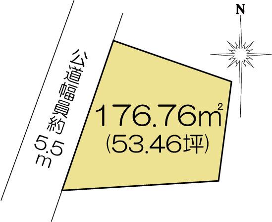 土地 水戸市河和田1丁目 JR常磐線(取手〜いわき)赤塚駅 980万円