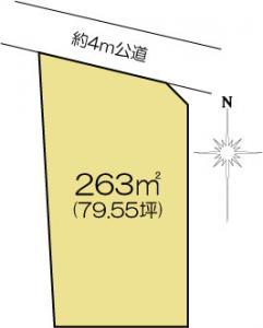 土地 水戸市千波町338-3 JR常磐線(取手〜いわき)水戸駅 17900000