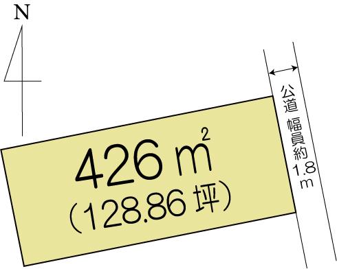土地 水戸市平須町 JR常磐線(取手〜いわき)赤塚駅 830万円