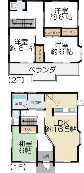 中古戸建 水戸市姫子1丁目 JR常磐線(取手〜いわき)赤塚駅 1400万円