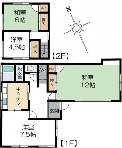 中古戸建 水戸市千波町 JR常磐線(取手〜いわき)水戸駅 1299万円