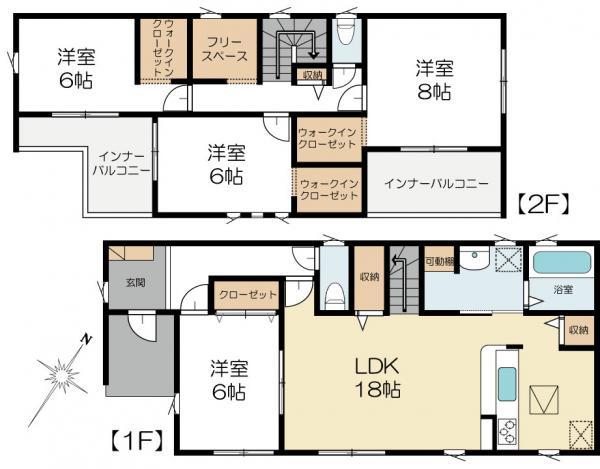 新築戸建 水戸市酒門町 JR常磐線(取手〜いわき)水戸駅 2698万円