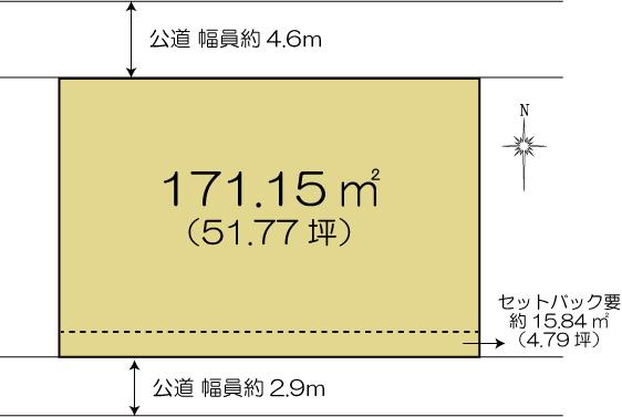 土地 水戸市平須町 JR常磐線(取手〜いわき)水戸駅 880万円