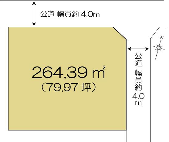 土地 水戸市平須町 JR常磐線(取手〜いわき)水戸駅 980万円
