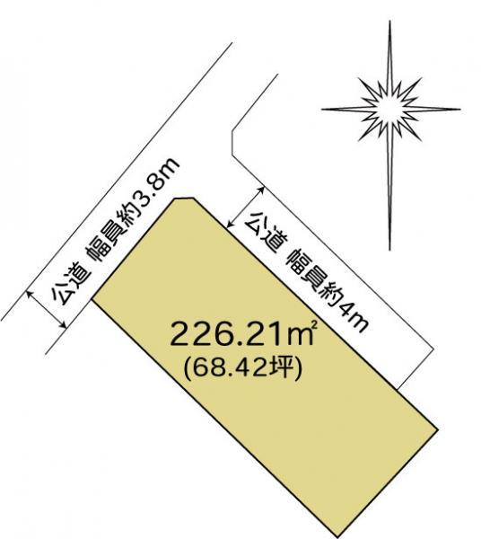 土地 水戸市東野町 JR常磐線(取手〜いわき)水戸駅 650万円