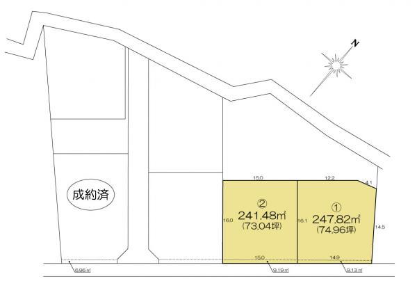 土地 水戸市見川町 JR常磐線(取手〜いわき)水戸駅 1080万円~1280万円