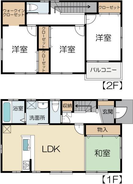 中古戸建 水戸市堀町 JR常磐線(取手〜いわき)赤塚駅 1890万円