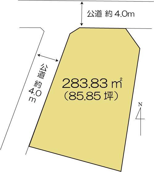 土地 水戸市元吉田町 JR常磐線(取手〜いわき)水戸駅 1380万円