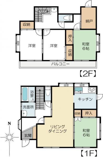 中古戸建 水戸市元吉田町 JR常磐線(取手〜いわき)水戸駅 750万円