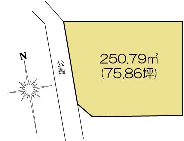 土地 水戸市米沢町 JR常磐線(取手〜いわき)水戸駅 1216万円