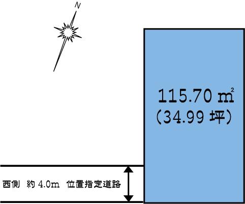 土地 茨城県水戸市元吉田町2791-5 JR常磐線(上野~取手)水戸駅 300万円
