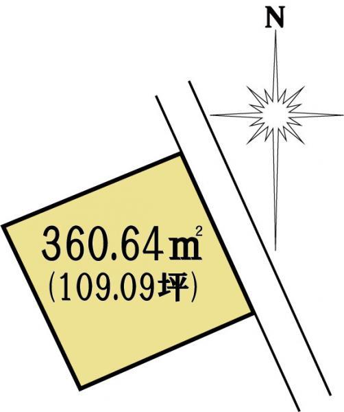 土地 茨城県水戸市東原3丁目4760-4 JR常磐線(取手~いわき)水戸駅 1480万円