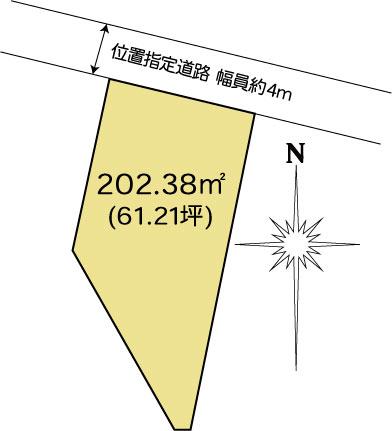 土地 茨城県水戸市元吉田町1950-15 JR常磐線(取手~いわき)水戸駅 700万円