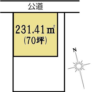 土地 茨城県水戸市笠原町1668-3 JR常磐線(取手~いわき)水戸駅 1120万円