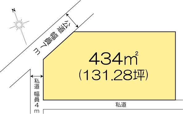 土地 茨城県水戸市酒門町4155-13 JR常磐線(取手〜いわき)水戸駅 820万円
