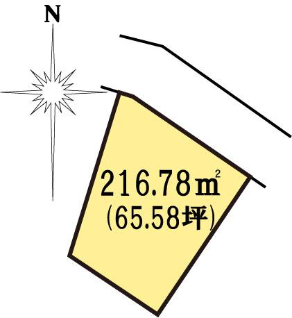 土地 茨城県水戸市見川町大山台 JR常磐線(取手~いわき)水戸駅 850万円