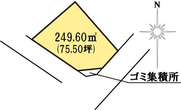 土地 茨城県水戸市見川町大山台 JR常磐線(取手~いわき)水戸駅 1080万円