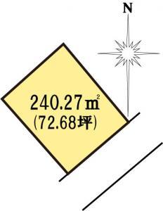 土地 茨城県水戸市見川町大山台 JR常磐線(取手~いわき)水戸駅 10000000