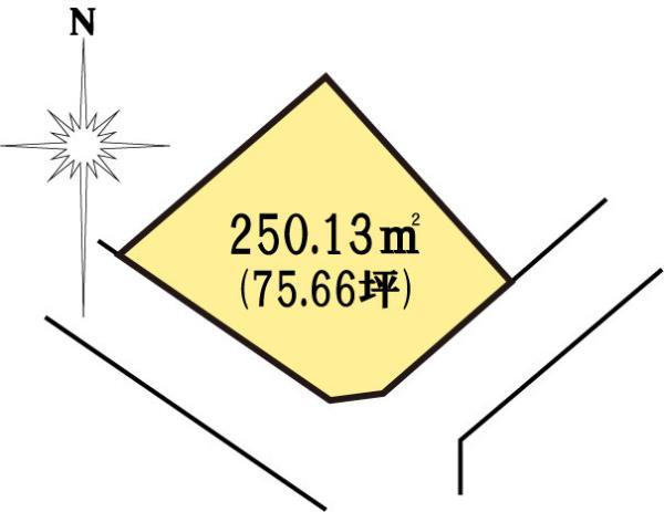 土地 茨城県水戸市見川町大山台 JR常磐線(取手~いわき)水戸駅 1280万円