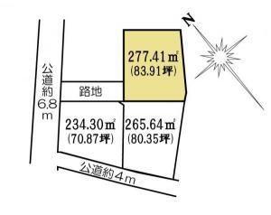 土地 茨城県水戸市金町3丁目1080 JR常磐線(取手~いわき)水戸駅 9300000