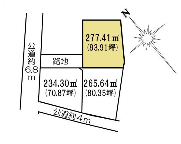 土地 茨城県水戸市金町3丁目1080 JR常磐線(取手~いわき)水戸駅 930万円
