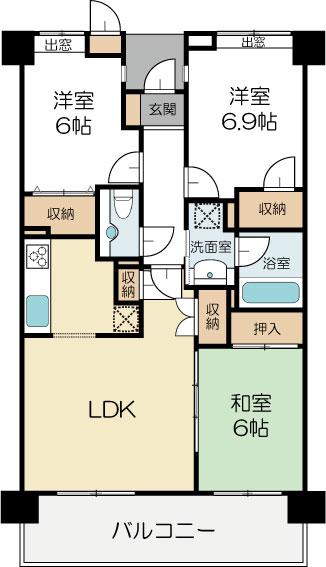 中古マンション 茨城県水戸市千波町1245−1 JR常磐線(取手~いわき)水戸駅 1230万円